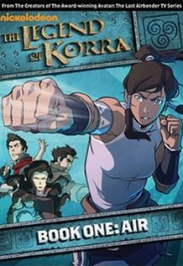 The Legend of Korra: Book One: Air - Volume 1 DVD - EU136957 DVDP
