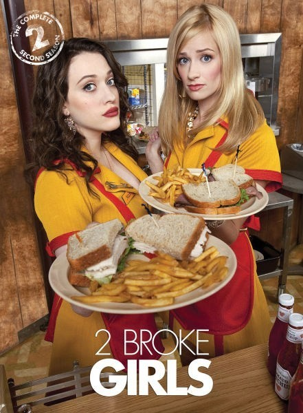 2 Broke Girls Season 2 DVD - Y32654 DVDW