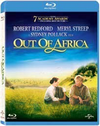 Out Of Africa Blu-Ray - BDU 25485