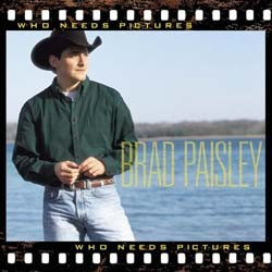 Brad Paisley - Who Needs Pictures CD - 07822188712