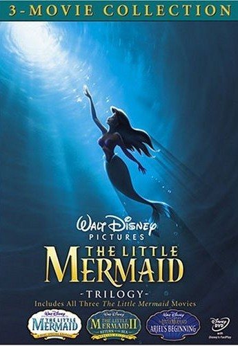 The Little Mermaid Trilogy DVD - 10222809