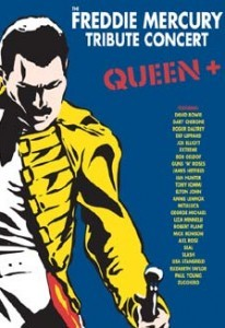 Queen - The Freddie Mercury Tribute Concert DVD - DVERE037