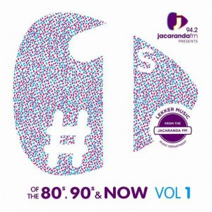 Jacaranda FM Presents #1's Of The 80s, 90s And Now CD - CDBSP3306