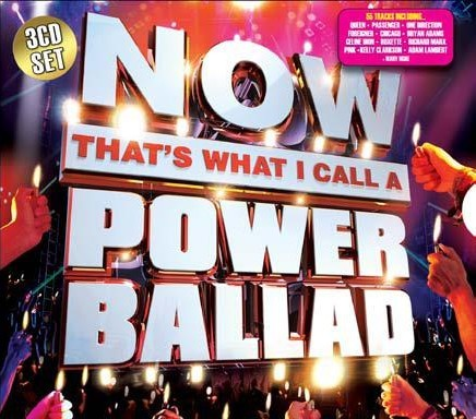 Now That's What I Call A Power Ballad CD - CDBSP3310