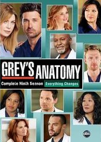 Grey's Anatomy Season 9 DVD - 10223003