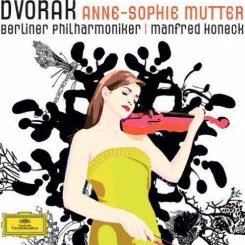 Anne-Sophie Mutter , Berliner Philharmoniker , Manfred Honeck - Dvorak CD - 00289 4791060