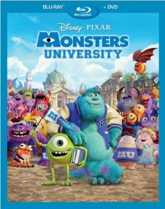 Monsters University Blu-Ray - 10222956