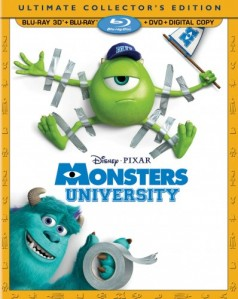 Monsters University 3D Blu-Ray+Blu-Ray - 10222958