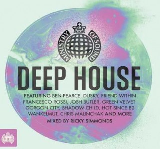 Ministry Of Sound: Deep House CD - CDJUST 675