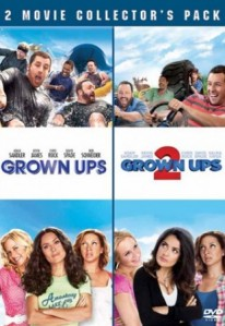 Grown Ups & Grown Ups 2 DVD - 90450 DVDS