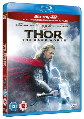 Thor: The Dark World 3D Blu-Ray+Blu-Ray - 10223653