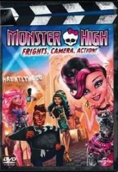 Monster High: Frights Camera Action DVD - 71628 DVDU