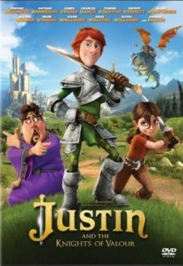 Justin And The Knights Of Valour DVD - 04031 DVDI