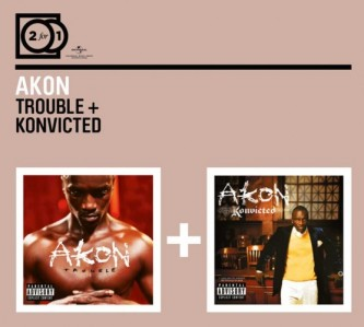 Akon - 2 For 1: Trouble / Konvicted CD - 06007 5325957