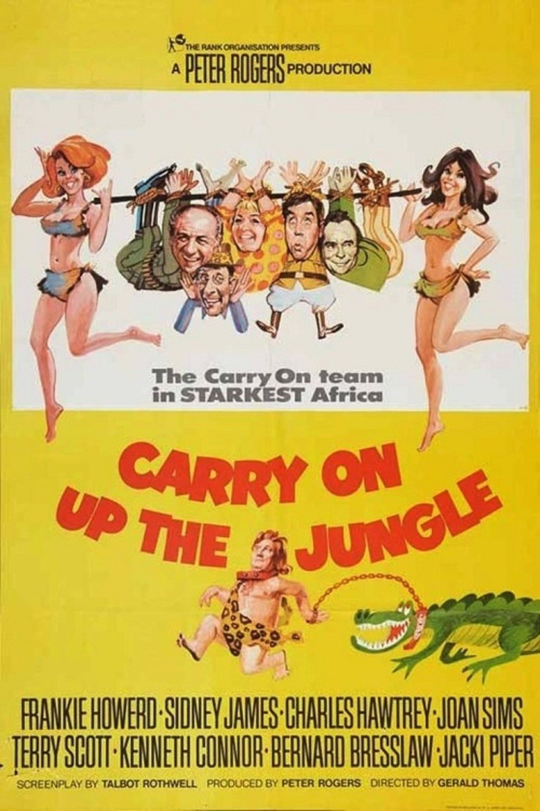 Carry On Up the Jungle DVD - ITV052