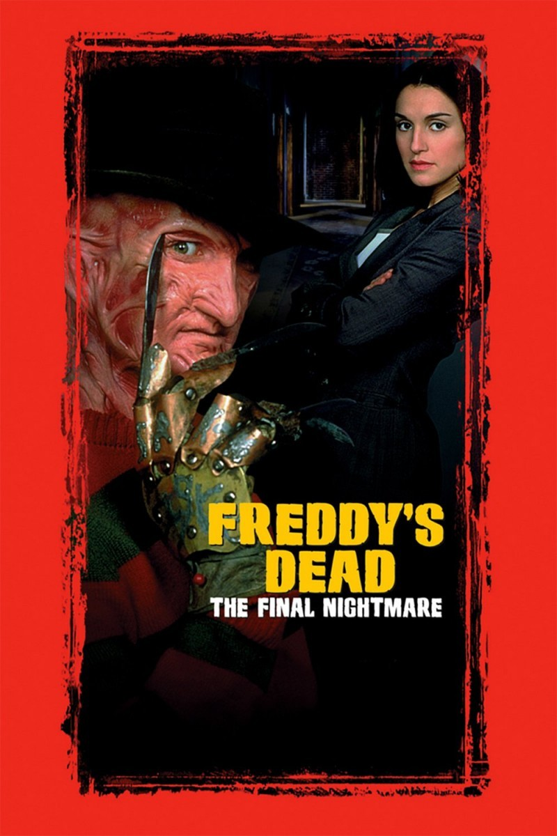 A Nightmare on Elm Street 6 - Freddy's Dead: The Final Nightmare DVD - N5021 DVDW