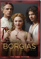 The Borgias Season 3 DVD - UK134343 DVDP
