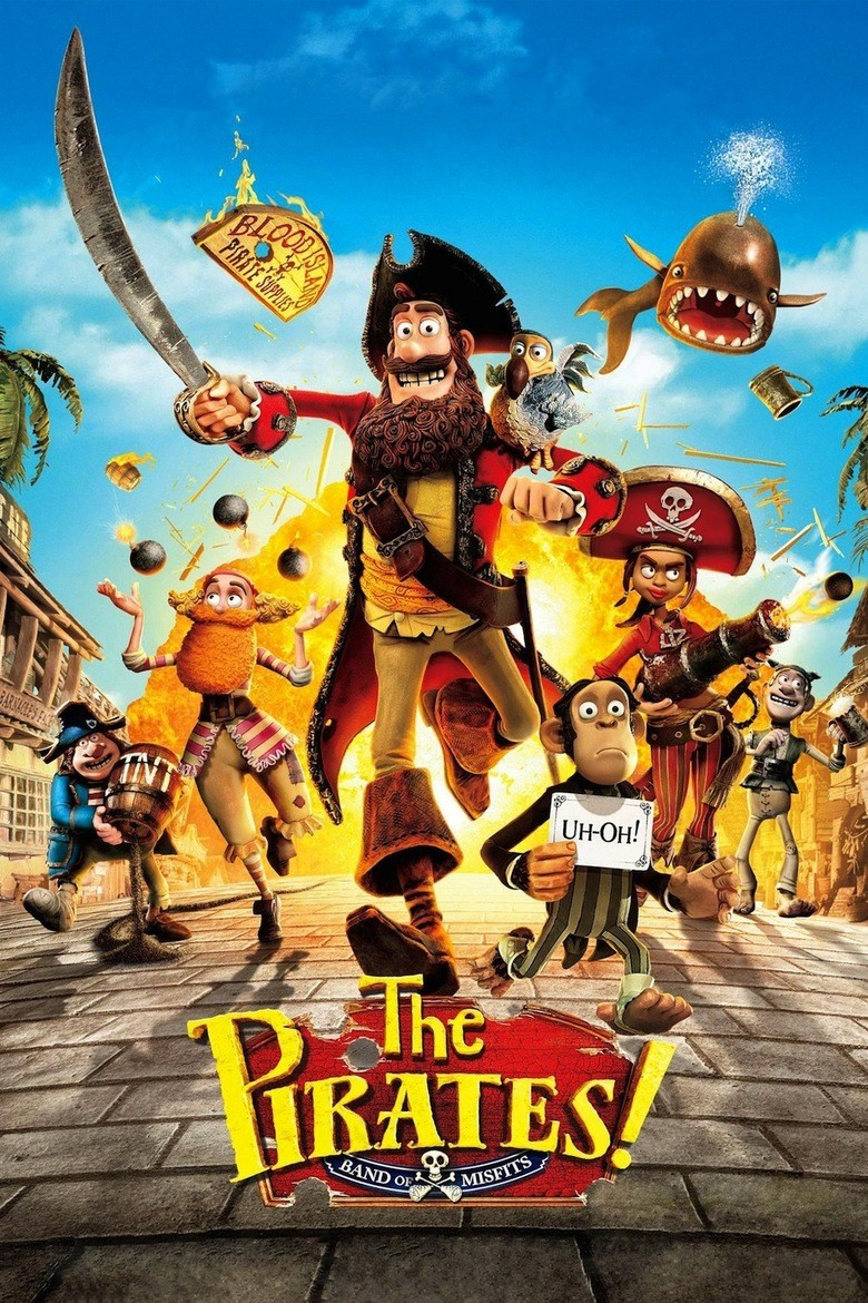 The Pirates! Band Of Misfits - In an Adventure with Scientists! DVD - 10225648