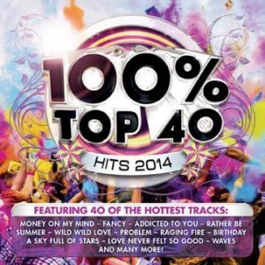 100% Top 40 Hits 2014 CD - CSRCD383