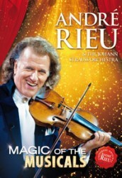 Andre Rieu - Magic Of The Musicals DVD - 06025 3789822