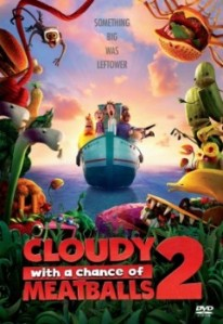 Cloudy with a Chance of Meatballs 2 DVD - 10225596