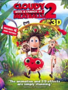 Cloudy with a Chance of Meatballs 2 3D 3D Blu-Ray - 10225718