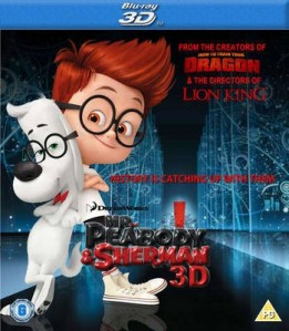Mr. Peabody & Sherman 3D Blu-Ray - 3D BDF 56897