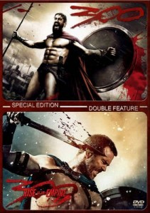 300 Double Feature DVD - 90464 DVDW