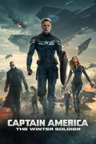 Captain America: The Winter Soldier DVD - 10224092