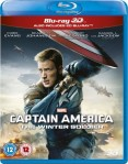 Captain America: The Winter Soldier 3D Blu-Ray+Blu-Ray - 10224102