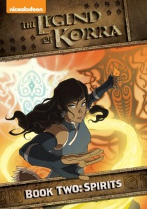 The Legend of Korra: Book Two: Spirits - Volume 1 DVD - EU136867 DVDP