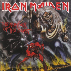 Iron Maiden - The Number Of The Beast VINYL - 2564625240