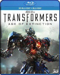 Transformers: Age of Extinction 3D Blu-Ray+Blu-Ray - WLBD138940 BDP