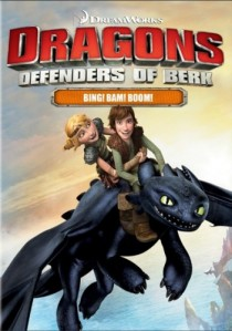 DreamWorks Dragons: Defenders of Berk - Bing! Bam! Boom! DVD - 57662 DVDF/2