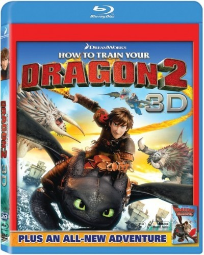 How to Train Your Dragon 2 3D Blu-Ray - 3D BDF 56899