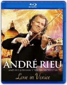 Andre Rieu & Johann Strauss Orchestra - Love In Venice - The 10th Anniversary Concert Blu-Ray - 06025 3794636