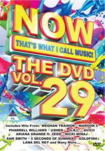 Now That's What I Call Music! The DVD Vol.29 DVD - DVBSP3327
