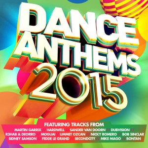 Dance Anthems 2015 CD - CDJUST 725