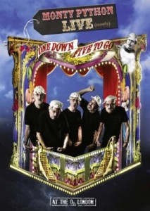 Monty Python Live (Mostly) - One Down, Five to Go DVD - DVERE061