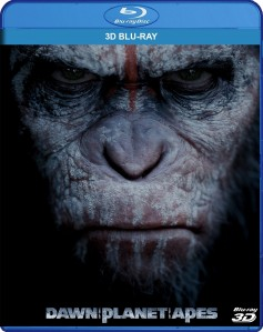 Dawn of the Planet of the Apes 3D Blu-Ray - 3D BDF 57384
