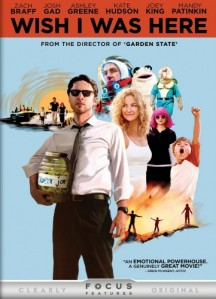 Wish I Was Here DVD - 73272 DVDU