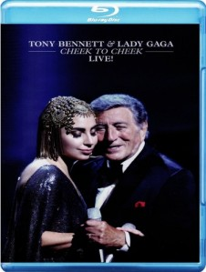 Tony Bennett & Lady Gaga - Cheek To Cheek Live Blu-Ray - 06025 4712392