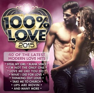 100% Love 2015 CD - CSRCD394
