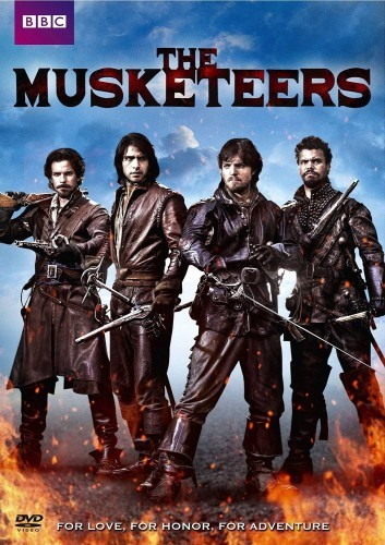 The Musketeers: Season 1 DVD - BBCDVD-3887L