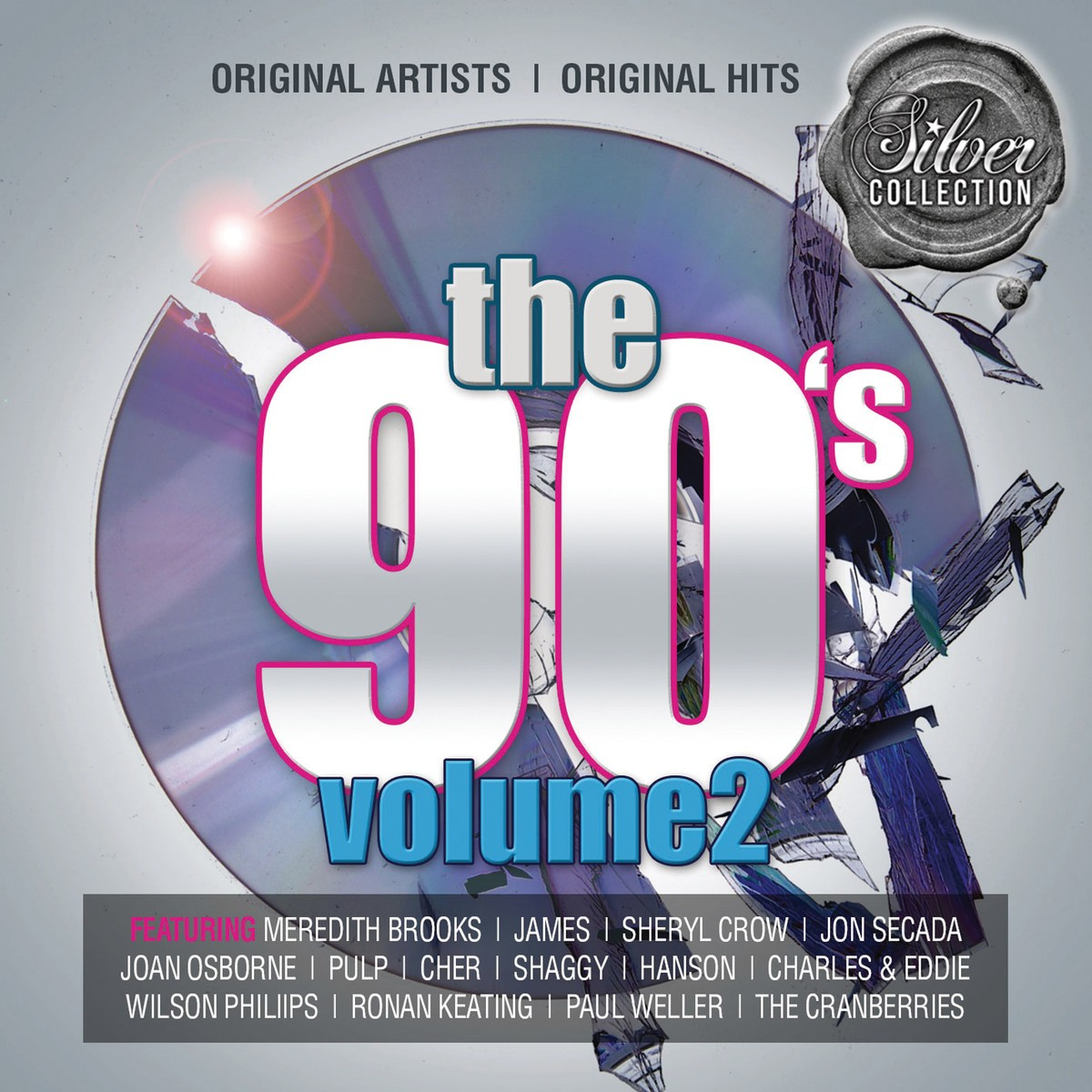Silver Collection: The 90's Volume 2 CD - BUDCD 1401
