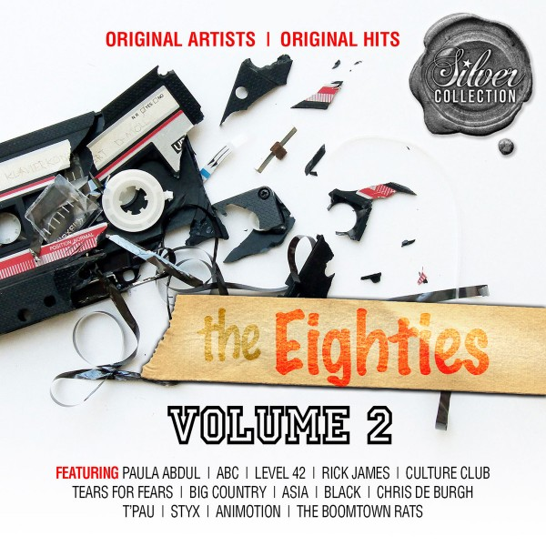 Silver Collection: The Eighties Volume 2 CD - BUDCD 1396