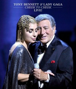 Tony Bennett & Lady Gaga - Cheek To Cheek Live DVD - 06025 4716141
