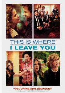 This Is Where I Leave You DVD - Y33480 DVDW