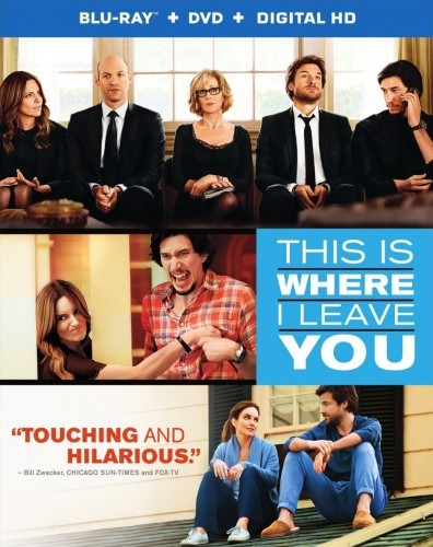 This Is Where I Leave You Blu-Ray - Y33481 BDW