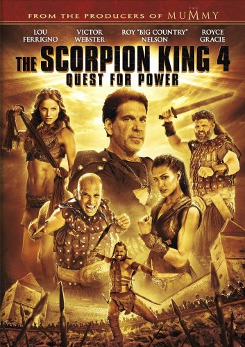The Scorpion King 4: Quest for Power DVD - 72338 DVDU